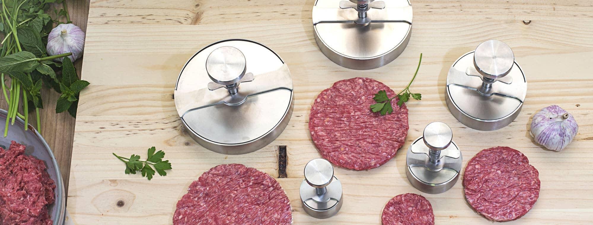 formadora hamburguesa