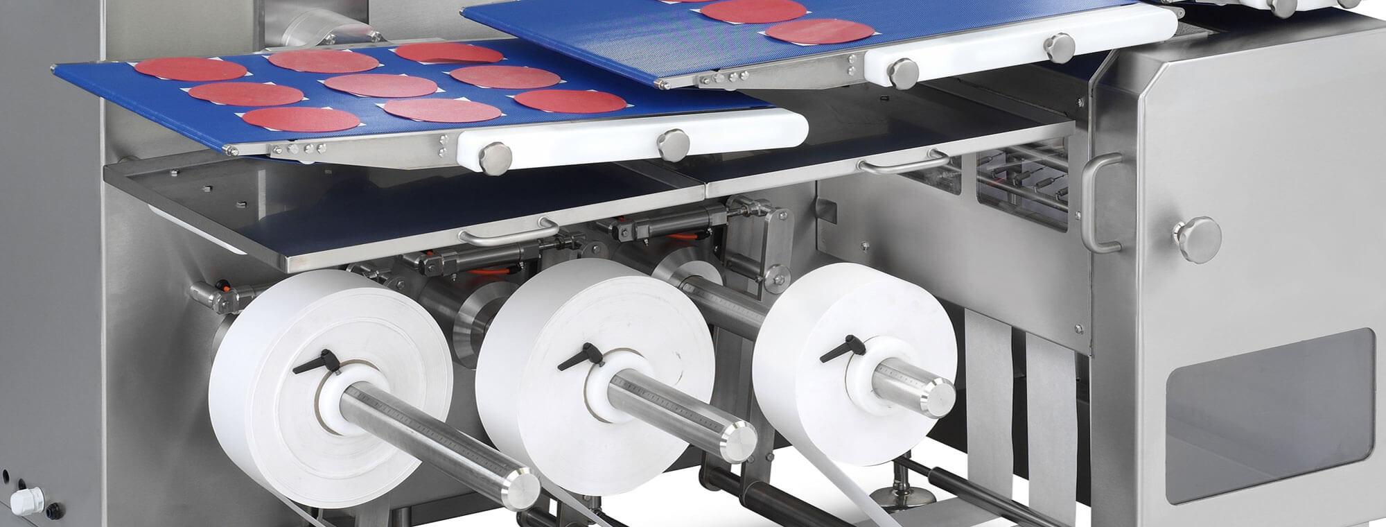 Máquinas papel hamburguesa