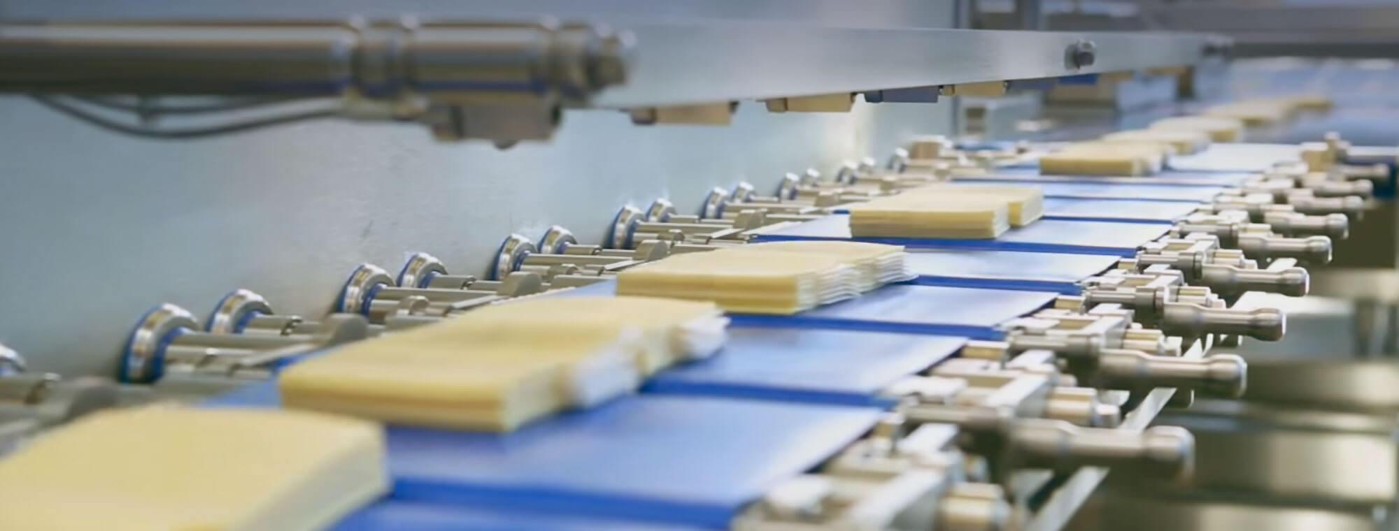 Moret packagin interleaving queso